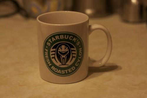 Starbuck's mug