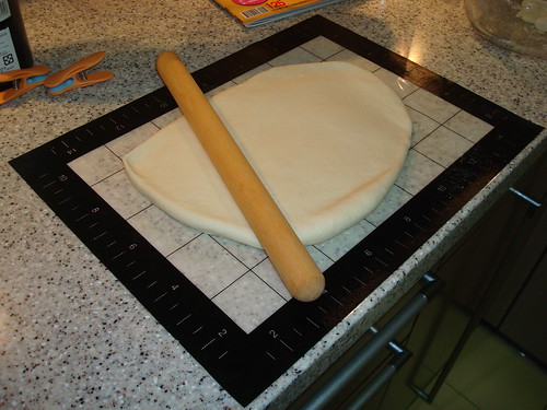 到怡芳阿姨家學做饅頭