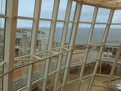 Celebrity Solstice Glass Wall