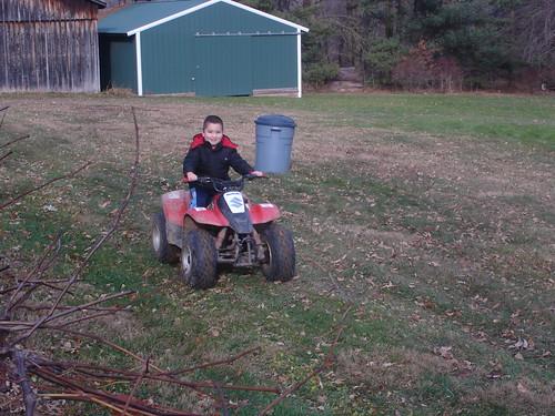 Mason Four-wheeling