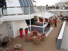 Celebrity Solstice outdoor area