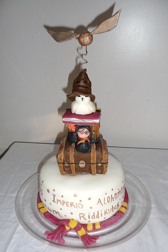 The Harry Potter Totem Cake
