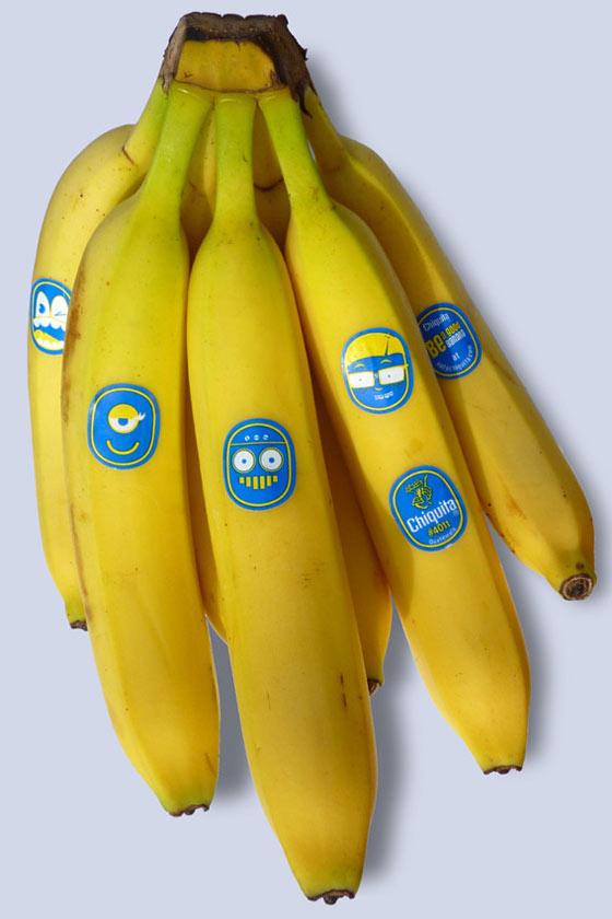 etiquetas de frutas
