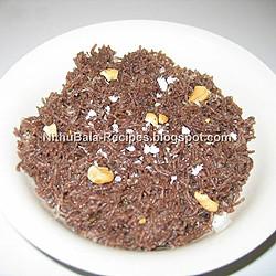 Nithya's Sweet Ragi Idiyappam