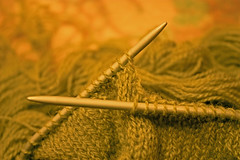 Knitting needels (elitatt) Tags: green knitting craft hobby treads twphch040
