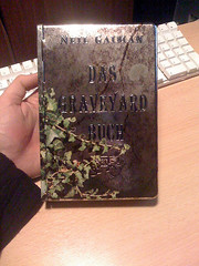 4345041772 a53ff4119d m Top 100 Childrens Novels #53: The Graveyard Book by Neil Gaiman