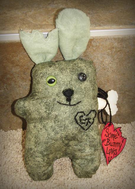Zombie Love Bunny