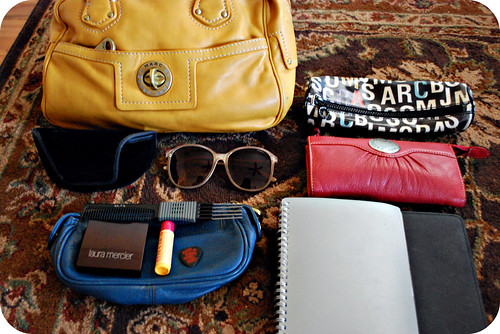 """What's in my bag?"" for my blog"