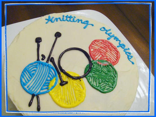 play games, knit, and eat cake too