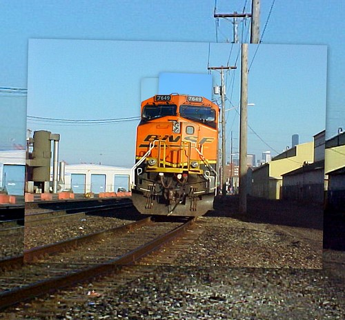 BNSF 7649 Collage