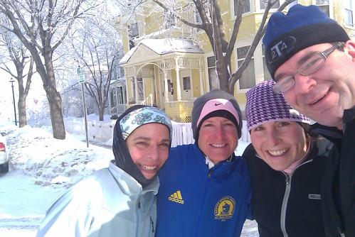 On Nicollet Island during 20-Mile Run