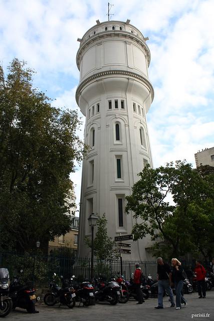Château d'eau de la rue du Mont Cenis