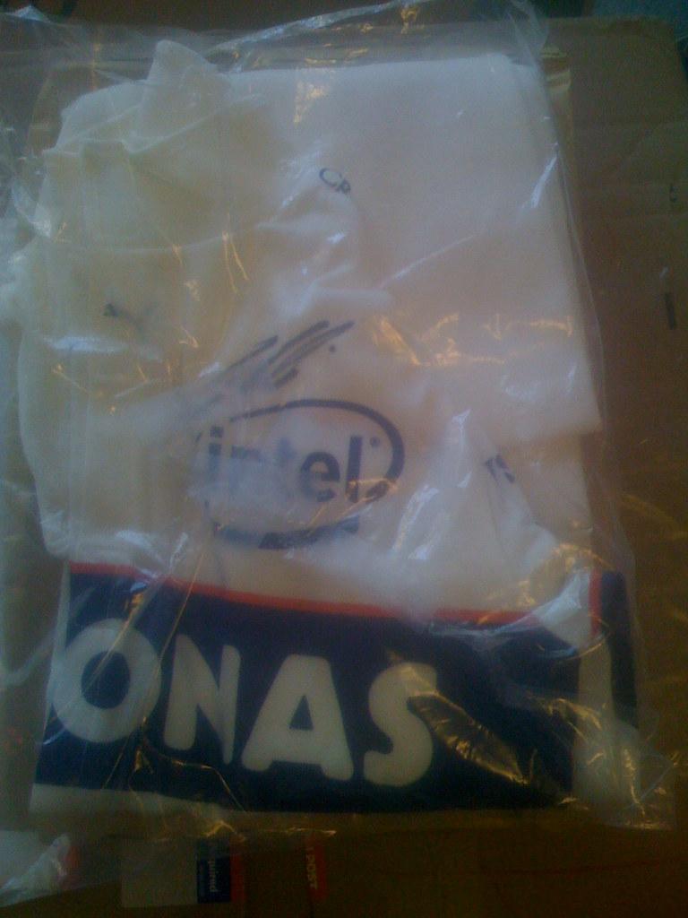 20100217 Nick Heidfeld's BMW Sauber F1 nomex underwear