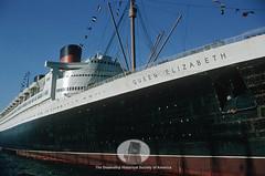 Queen Elizabeth (digark) Tags: ship culture maritime transportation historical steamship queenelizabeth thedigitalark