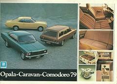 Chevrolet 1979 (Hugo-90) Tags: auto chevrolet car ads advertising chevy catalog caravan comodoro brochure 1979 opala