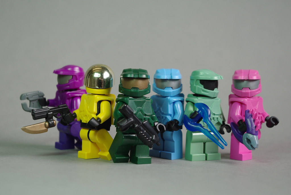 The world 39 s best photos of masterchief and minifig - Lego spartan halo ...