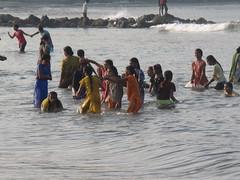 IMG_2319 (Sara the Intrepid) Tags: sunset sea sky india beach sunrise canon sand kerala gokarna southindia g10 saratheintrepid