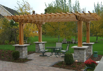 Cheap Outdoor Patio On Grounds Keeper Inc Outdoor Structure Deck
