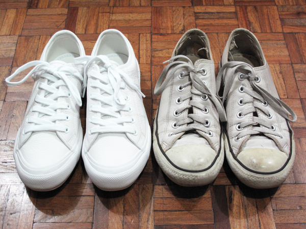 Fred Perry vs Converse sneaks 01