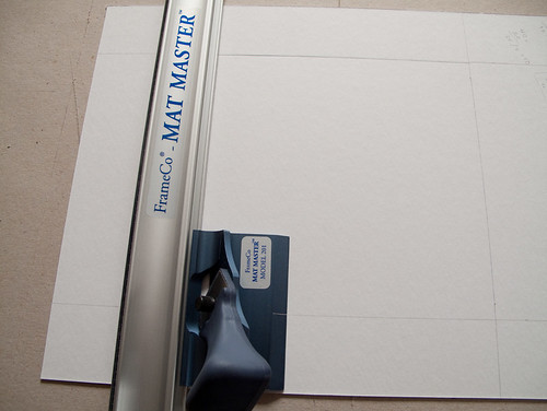 mat board cutting tute