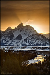 last rays over Snake River... (Mac Danzig Photography) Tags: winter sunset mountain snow river landscape nationalpark wyoming grandteton tnc11