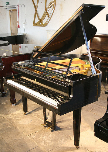 Black, Steinway & Sons Model S Grand Piano at Besbrode Pianos Leeds