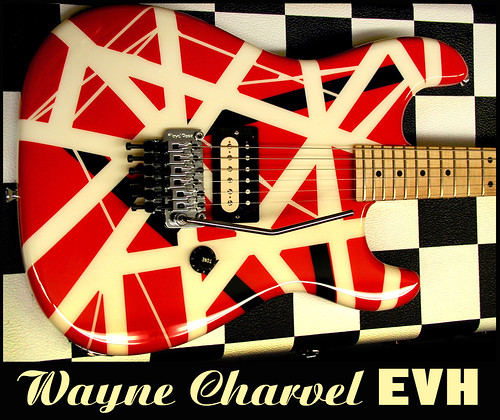 Wayne Charvel EVH graphic guitar. Discontinued many years ago.