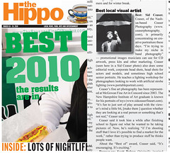 Best Visual Artist 2010 Hippo Press
