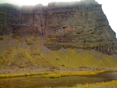 icelandic bluffs up close