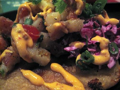 inc street food - salvadoran chicken pupusa by foodiebuddha.