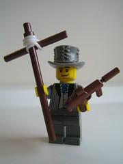 """Praise the Lord and pass the Ammunition"" (xwingyoda) Tags: lego hazel serjtankian brickarms electthedead brickhorizon amazingarmory"