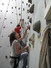 Climbing wall challenge