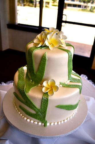 J&S wedding cake