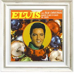 Elvis - Blue Christmas (Tommer G) Tags: music records album vinyl albums lp record covers lps
