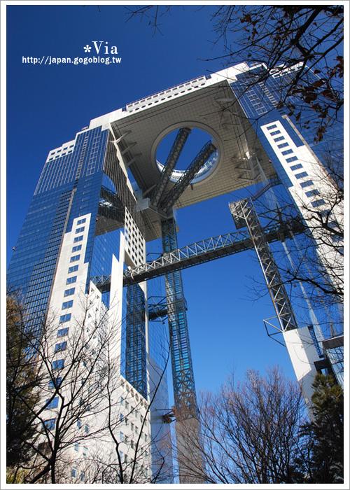 【大阪自由行】跟著via遊大阪~大阪梅田空中庭園展望台6