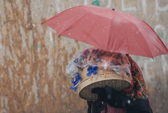 Bormio: la gente dei Pasquali (Luigi Rosa) Tags: red people italy umbrella easter costume italia celebration persone alta festa rosso lombardia ombrello pasqua valtellina sondrio bormio pasquali