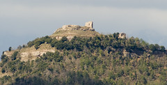 El castell de Llu  / The castle of Llu (SBA73) Tags: mountain castle archaeology forest ruins war peak pic catalonia medieval castro bosque ruinas catalunya chateau schloss remains middleages castillo catalua catalan bosc castell ruines catalogna puig osona arqueologia catal katalonien catalogne feudalism castrum llu perafita lluans feudalismo edatmitjana lucianus catalunyaromanica feudalisme mygearandme castroluziano bicri510005514