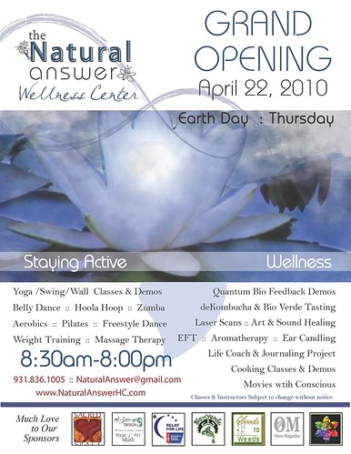 the Natural Answer Wellness Center : Grand Opening