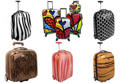 Heys Luggage Collage