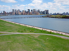 View From Liberty State Park (scottdunn) Tags: newyorkcity newyork spring cityscape gothamist kap kiteaerialphotography ellisisland libertystatepark fotografiaareacompipa photoparcerfvolant fesseldrachenluftbildfotografie