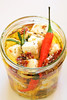 marinated feta in jar 8159 R