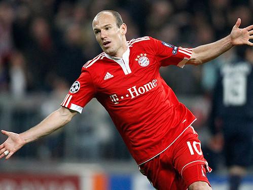 Robben on Bayern 1-0 Lyon por LizNN7.