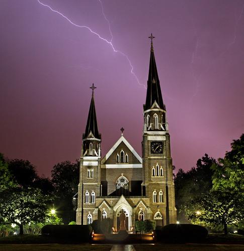 Yay, lightning!