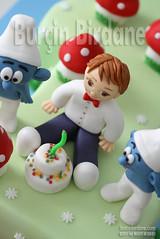 Sirinler 1 Yas (burcinbirdane) Tags: cake smurfs the