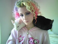 Day 186 of 365 - Year 2 (wisely-chosen) Tags: me june webcam midnight chinchillas lightning pinkhair bluehair orangehair tokidoki greenhair yellowhair 2011 rainbowhair 365days colorfulhair multicoloredhair lavenderhair naturallycurlyhair manicpanicredpassion pinkwhitechinchilla extradarkebonychinchilla coastalscents88ultrashimmereyeshadowpalette keromaskultralightmaskingcream manicpanicultraviolet manicpanicshockingblue manicpanicelectricbanana curlformers toofacedshadowinsurance manicpanicpillarboxred coastalscentsultrashimmermica manicpanicravenmascara manicpanicflawlessconcealercorrectorkit3tones manicpanicdreamtoneflawlessfoundationskintoner manicpanicmoonlightdreamtonefoundation manicpanicvampireredblush ardellfashioneyelashes111 duoclearwhitewaterproofeyelashadhesive philosophyrainbowsherbetlipgloss manicpanicultravioletpencil itsa10miraclehairmask redkensmoothdownbuttertreatment onenonlyarganoiltreatment
