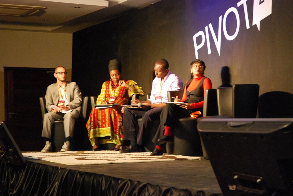 One of the judging panel at Pivot 25