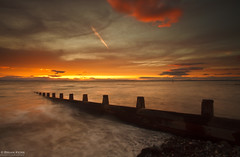 You Just Can't Get Enough (.Brian Kerr Photography.) Tags: sunset sky seascape clouds canon landscape rocks cumbria posts solway silloth criffel solwayfirth eos5dmkii