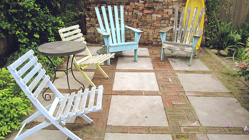 fun patio space