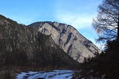 la Crevasse (bulbocode909) Tags: valais suisse bovernier bandebovernier montagnes lacrevasse nature chemins hiver neige arbres paysages bleu
