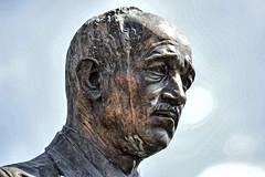 Praga-pomnik E.Beneša (marek&anna) Tags: prague praga praha statue sculpture monument ebeneš